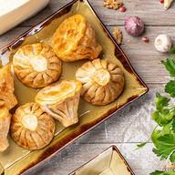 Хинкали с телятиной и кинзой (жареные) Фото