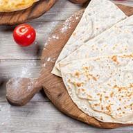 Кутаб с сыром и кинзой Фото