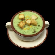 Крем-суп из фасоли Фото