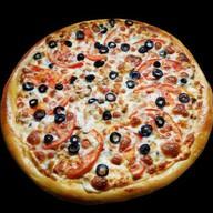 Пицца с горбушей Фото