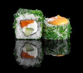 Спайси лосось в укропе - Фото