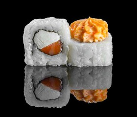 Лава лайт с лососем - Фото