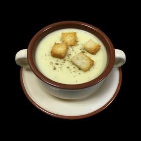 Крем-суп сырный - Фото