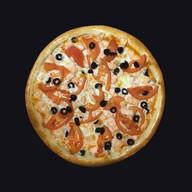 Пицца с лососем (двойная) Фото