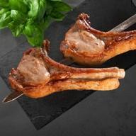 Шашлык из свиной корейки на кости Фото