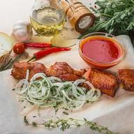 Шашлык из свиной шейки (мякоть) Фото