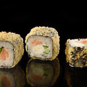 Темпура с лососем - Фото
