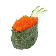 Суши тобико orange Фото