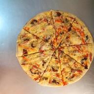Фетучини с ветчиной пицца Фото