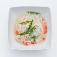 Мисо-суп удон с креветками Фото