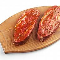 Стейк говядины в маринаде Фото
