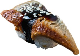 Гункан острый с угрем - Фото