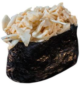 Запеченный гункан с крабом - Фото