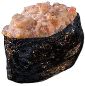 Запеченный гункан с креветкой - Фото