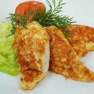 Филе куриное жареное в сырной корочке Фото