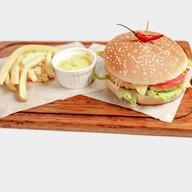 Чикен сендвич мексикано Фото