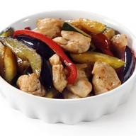 Курица с овощами тори ясай Фото