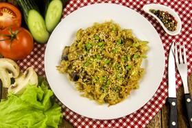 Рис с грибами и овощами - Фото