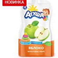 Яблочное пюре Агуша Фото