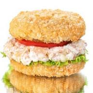Бургер с курицей терияки Фото