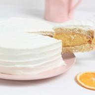 Торт мини апельсиновый Фото