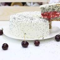 Торт мини маково-вишневый Фото