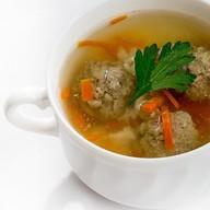 Виндзорский суп с фрикадельками Фото