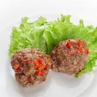 Котлетки мясные с болгарским перцем Фото