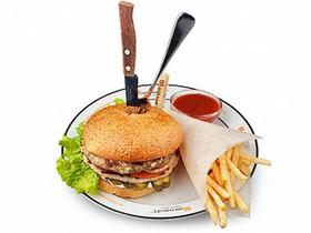 Крафт бургер - Фото