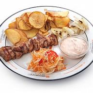 Слайсы из свинины Фото