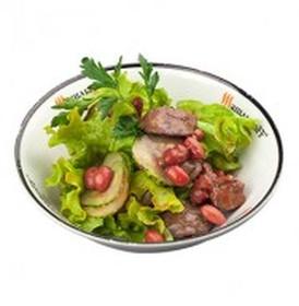 Салат с печенью (БЛ) - Фото
