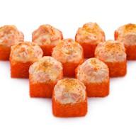 Запеченный сырный с лососем гранд Фото