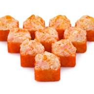 Запеченный сырный с креветками гранд Фото