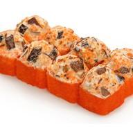 Запеченный сырный с грибами шиитаке Фото