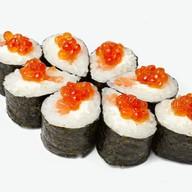 Сливочный лосось с икрой Фото
