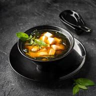 Мисо суп с лососем Фото