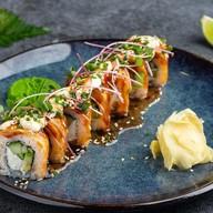 Опаленный лосось Фото