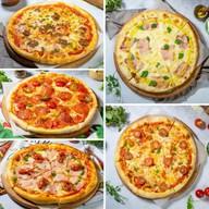 5 пицц 25 см Фото