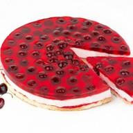 Зимняя вишня десерт муссовый бисквит Фото