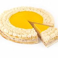 Крем-брюле десерт муссовый бисквитный Фото