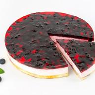 Черничное чудо йогуртовый бисквитный Фото