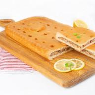 Пирог с капустой и рыбой (сдобный) Фото