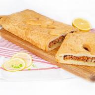 Пирог с картофелем и рыбой (слоеный) Фото