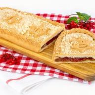 Пирог с калиной (сдобно-песочный) Фото