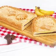 Шоколадно-банановый микс сдобно-песочный Фото