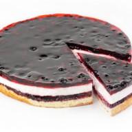 Снежная черника десерт муссовый бисквит Фото