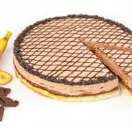 Банан в шоколаде десерт муссовый бисквит Фото