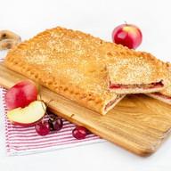 Пирог с яблоками и вишней (постный) Фото