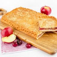 С яблоками и вишней (сдобно-песочный) Фото