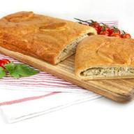 Пирог с курицей и капустой (слоеный) Фото